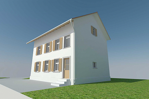 3D-CAD-Modell in ArchiCAD, HMQ AG