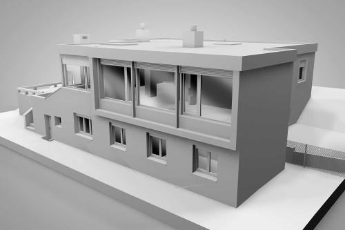 Referenzen bim f hige 3d modelle hmq ag for Einfamilienhaus modelle