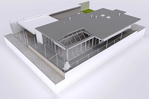 3D-Modell in ArchiCAD, HMQ AG
